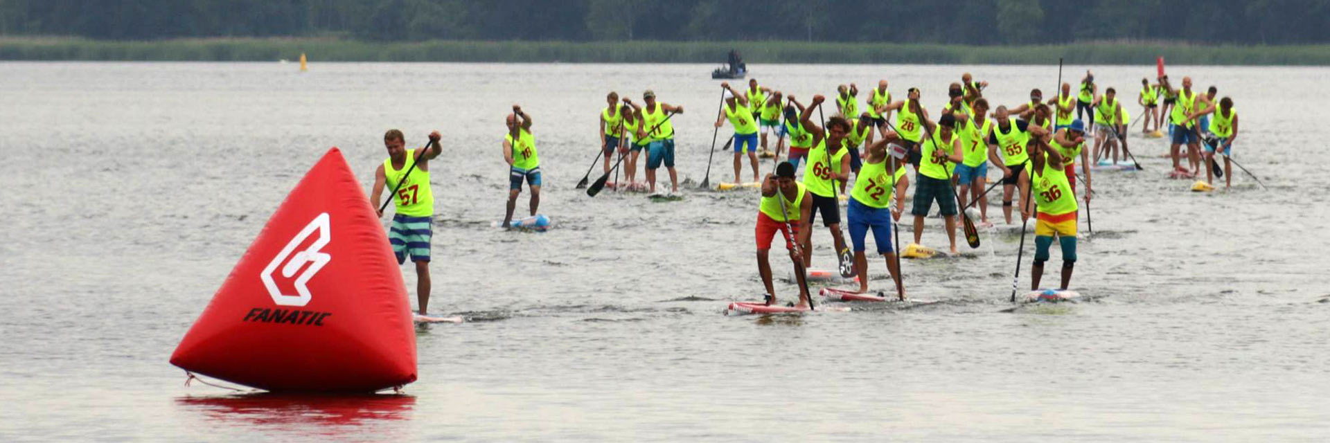 Stand-up-Paddle-wedstrijd