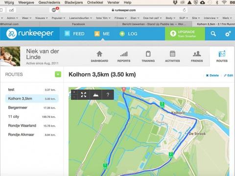 Navigatie-op-de-sup-runkeeper