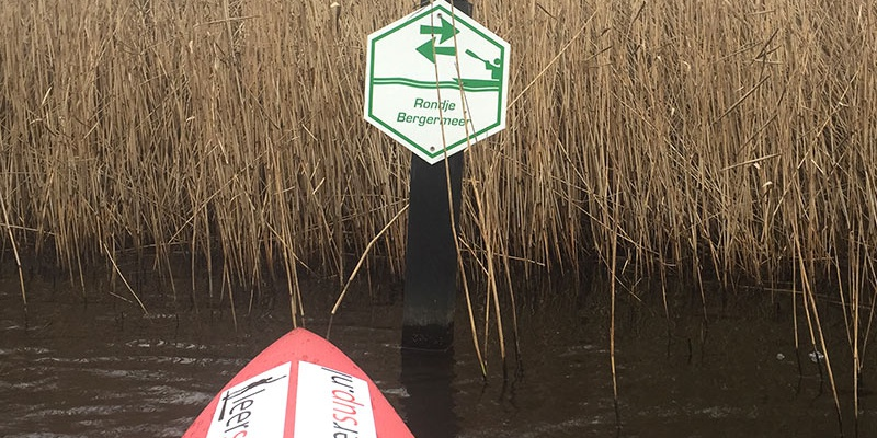 Bergermeer-Alkmaar-SUP-route