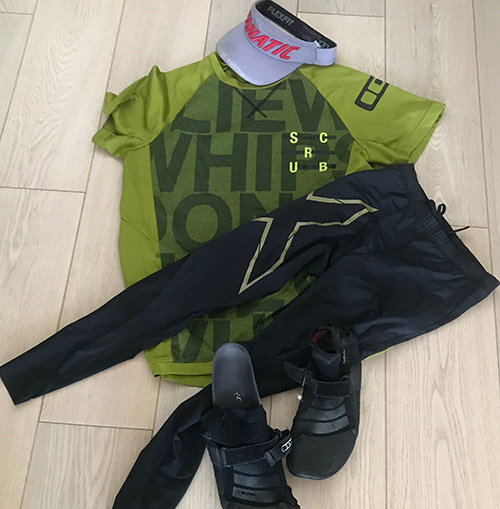 SUP 11 voorbereiding kleding