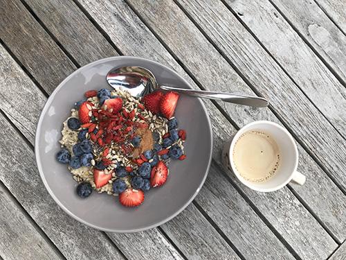 SUP 11 voorbereiding ontbijt