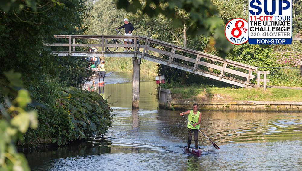 SUP 24hr world record bruggetje